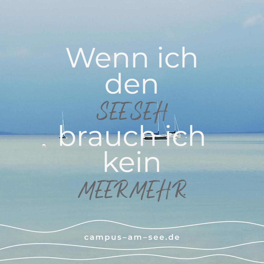 Zitat See Meer